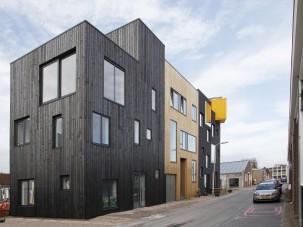 Huis Donker Hout : Zwarthout shou sugi ban